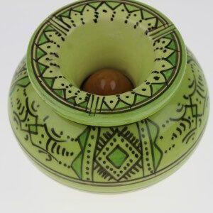 Cendrier marocain vert pistache