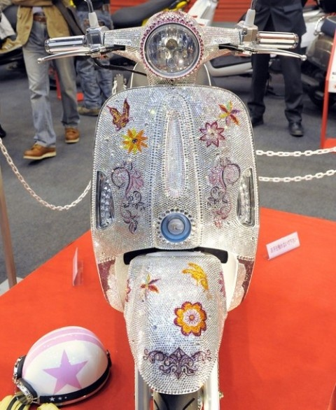 blinged out scooter