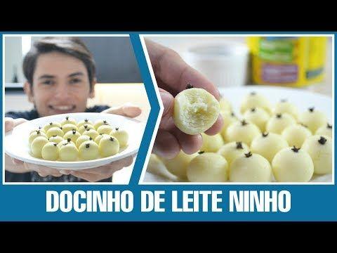 DOCINHO DE LEITE NINHO 3 INGREDIENTES (LEITE EM PÓ) | RECEITA #49 - YouTube