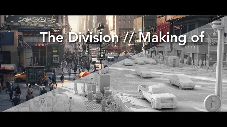 The Division trailer // Making of on Vimeo