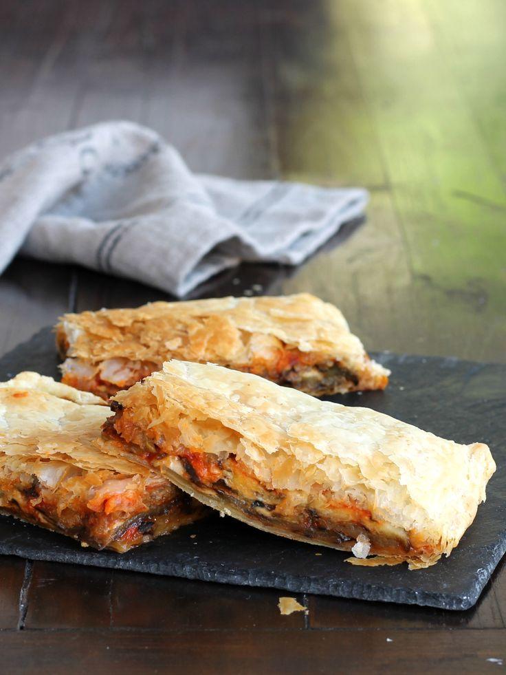 PORTAFOGLIO ALLE MELANZANE ricetta torta rustica verdure formaggio