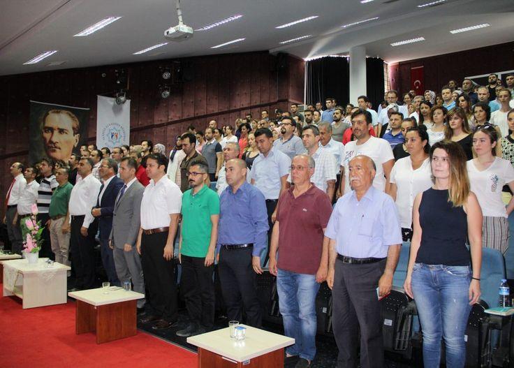 Alanya Alaaddin Keykubat Üniversitesi (ALKÜ) 15 Temmuz Demokrasi Bayramını ve 15 Temmuz Şehitlerini unutmadı. 15