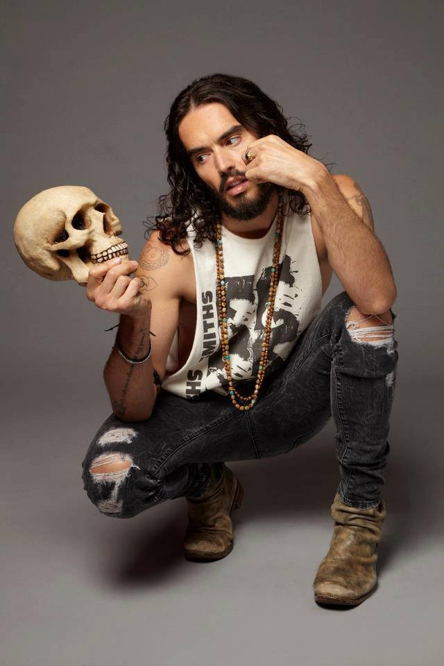 Russell Brand. Smart, funny, cool.
