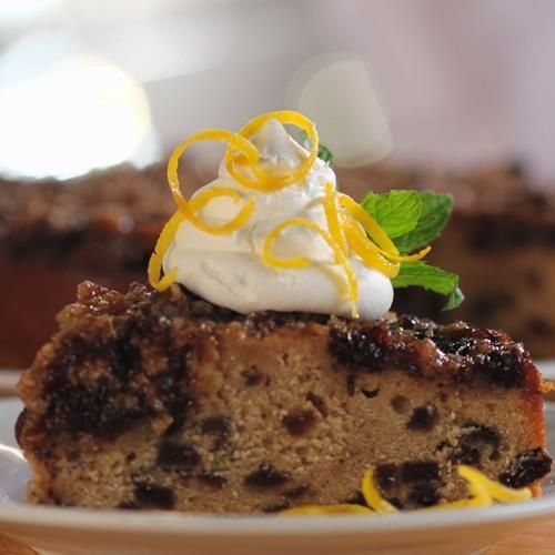 Mincemeat Spice Cake by Crosse