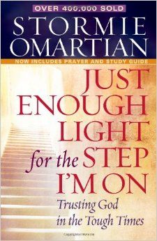 February 2016- Book Club - Just Enough Light for the Step I'm On by Stormie Omartian. (not an affiliate link, endorsement, or sponsorship) #ChristianBooks #selfhelp  #Bookclub