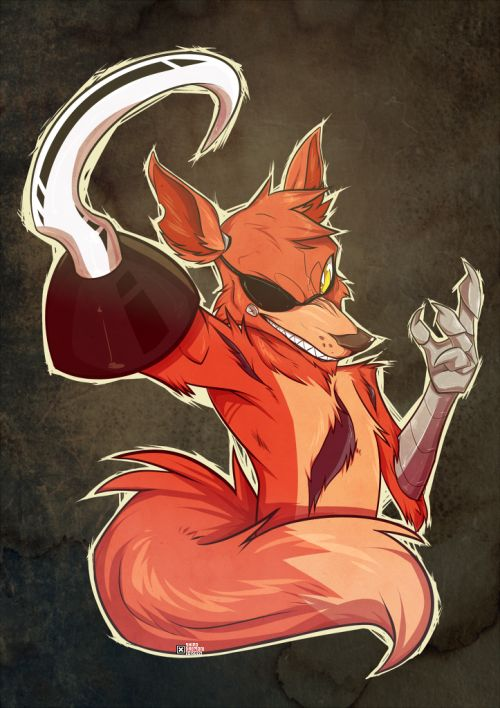 fnaf cute foxy - Google Search