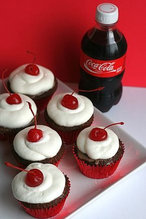 cherry coke cupcakes by annieseats, via Flickr