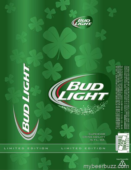 Bud Light Reveals 2014 St Patrick S Day Packaging