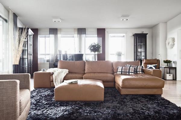Cognac Color Leather Sofa Dream Couch Pinterest