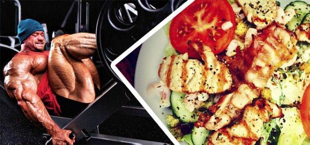 dieta para desarrollar musculo