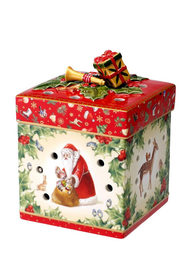 Villeroy boch small square christmas gift box