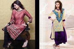 Cotton Salwar Neck Designs Catalogue & Churidar Patterns