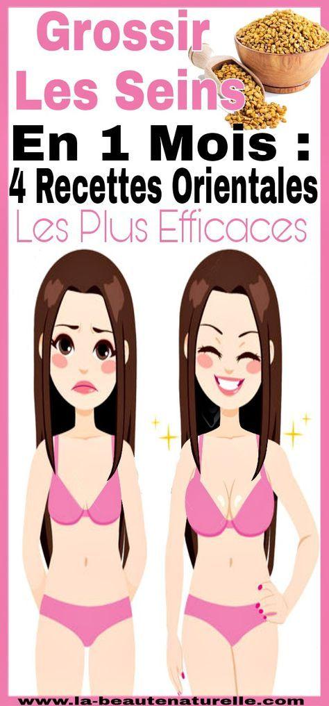 Grossir les seins en 1 mois : four Recettes orientales les plus efficaces