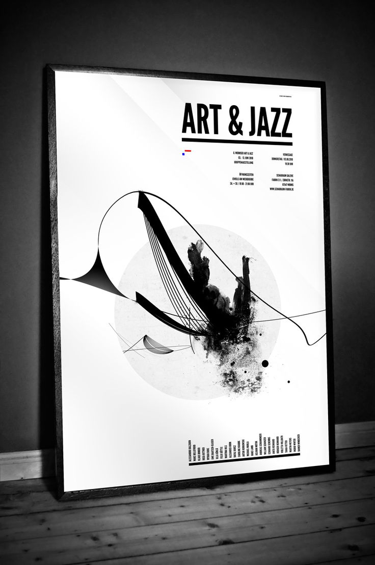 Poster design monochrome - Find This Pin And More On Work Research Jazz Posters By Vitaminajungle