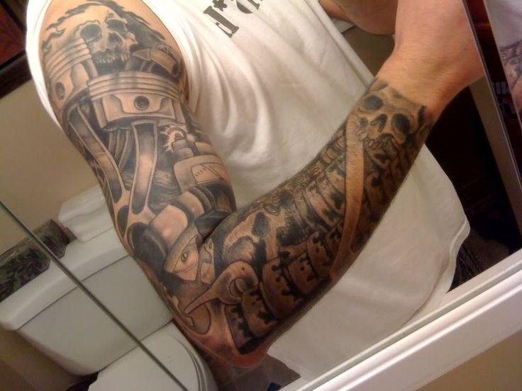 ... piston tattoo tattoo piston tattoo sleeve blake s tattoos 9168 tattoos