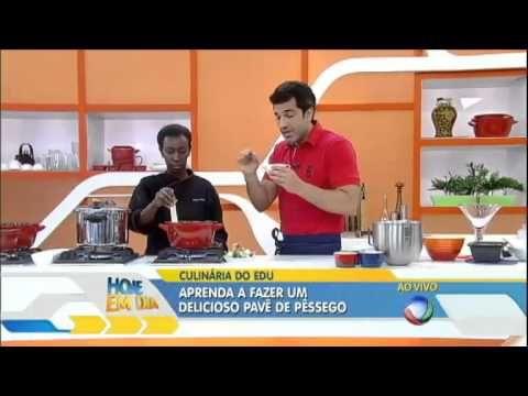 Delícia: aprenda a fazer um delicioso pavê de pêssego - YouTube