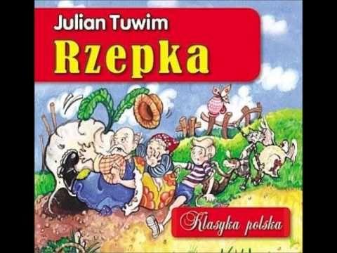 Wiersze dla dzieci - Julian Tuwim - Rzepka czyta Wiktor Zborowski - YouTube