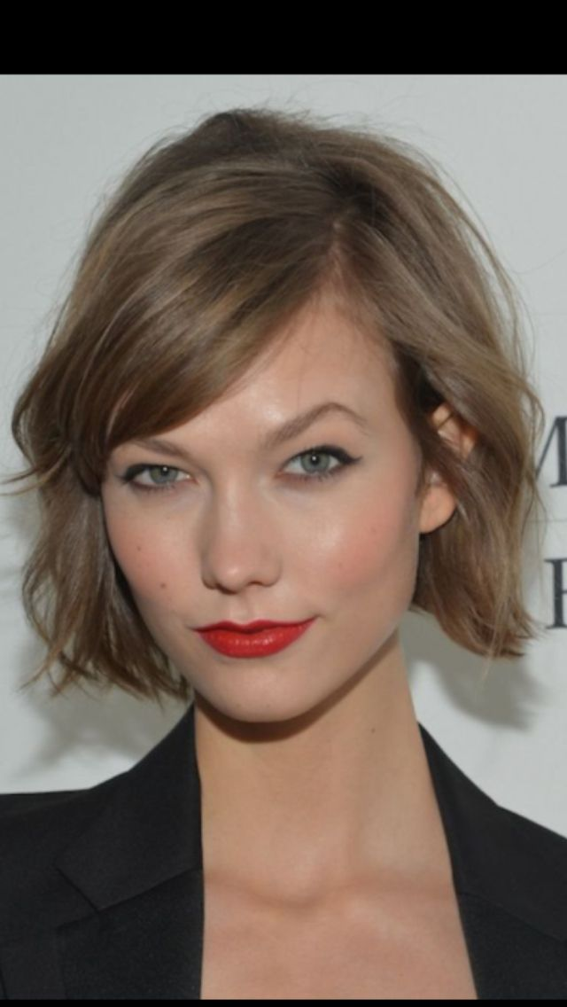 Want to try this look-Karly Kloss haircut
