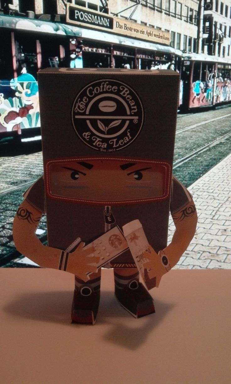 coffee paper toy7