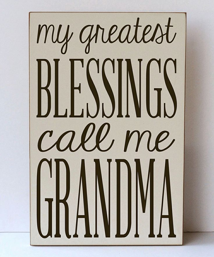 Greatest Blessing Grandma Quotes. QuotesGram by @quotesgram