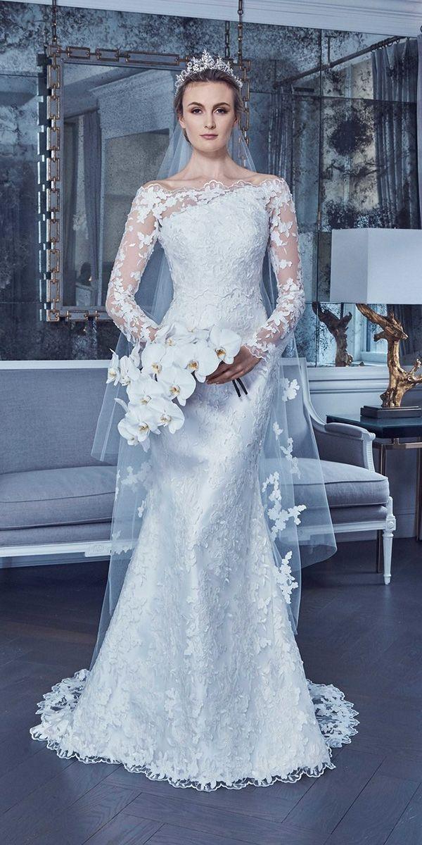 30 wedding dresses 2019 — trends  top designers  romona