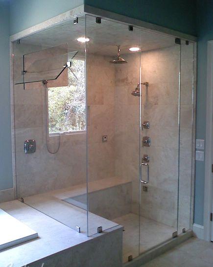 Bath Shower Knee Wall Google Search Bathroom Ideas