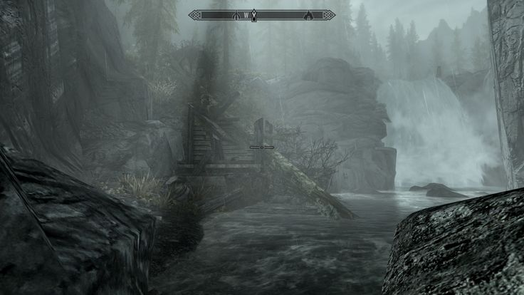 """[PC] I love hidden gems like this: A tree fell on this small shack killing the inhabitant named """"Lucky"""" - and lucky for me found some goodies here #games #Skyrim #elderscrolls #BE3 #gaming #videogames #Concours #NGC"""