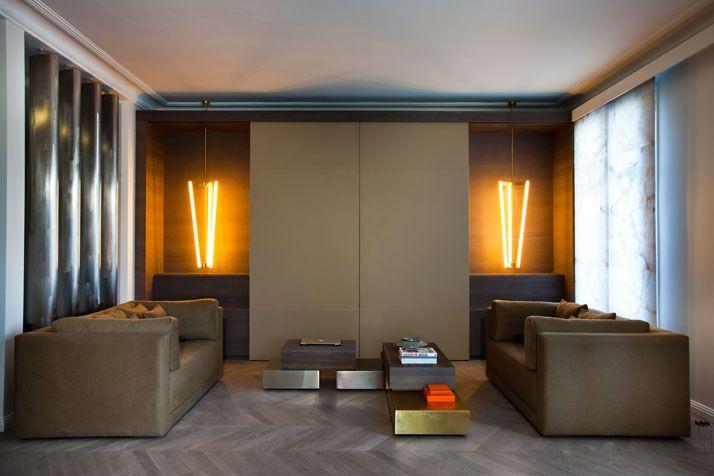 A Modern Apartment Near The Eiffel Tower | Yatzer