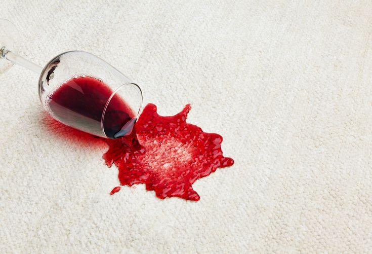 Rode wijn vlekken verwijderen? Zo doe je dat! http://www.ikzoekeenschoonmaakster.nl/blog/rode-wijn-vlek/