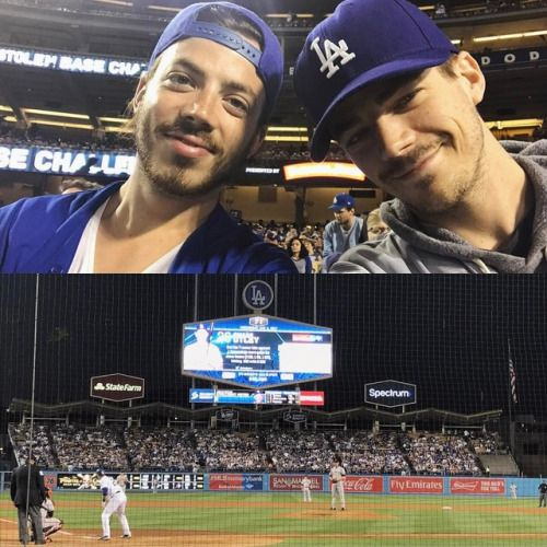 grantgust: Our seats at the @dodgers game last night...