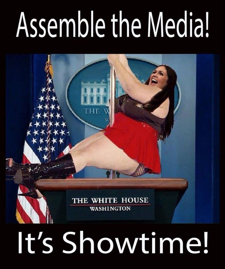 Lying Sarah Huckabitch!! It's infuriating that this Cow is paid with our Tax Dollars To Stand Up And Outright LIE about important issues concerning our Nation. ((it's nice of Mrs. trump to let Sarah use her Pole))