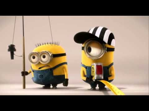 """We don't know what the Minions are actually """"saying"""" but we understand what is going on. Distance Contest (Ending of """"Despicable Me"""") - context clues and inferences YouTube"""
