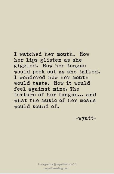 Taste #wyatt #wyattwrites #wyattpoems #poetry #poems #love