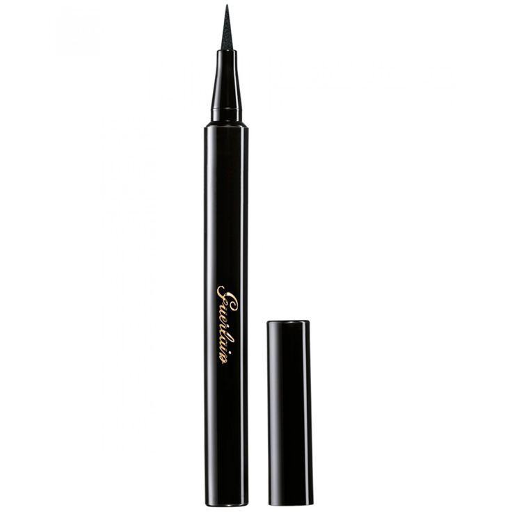 Plumón Guerlain Eyeliner 16 Negro; delineador con punta rotulador estilo plumón para un trazo preciso y de larga duración.