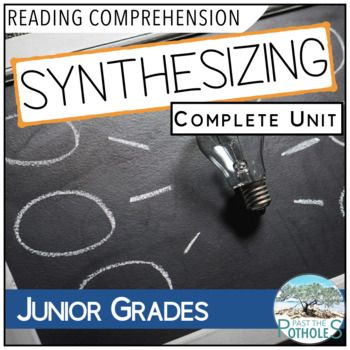 Synthesizing Complete Unit - Reading Comprehension Strategy  -  #synthesize #reading #comprehension #read #synthesizing #unit #language #arts #literacy #teaching #school #junior #grades #activities #printables #assessment #lesson #plans #handouts #teacher #notes