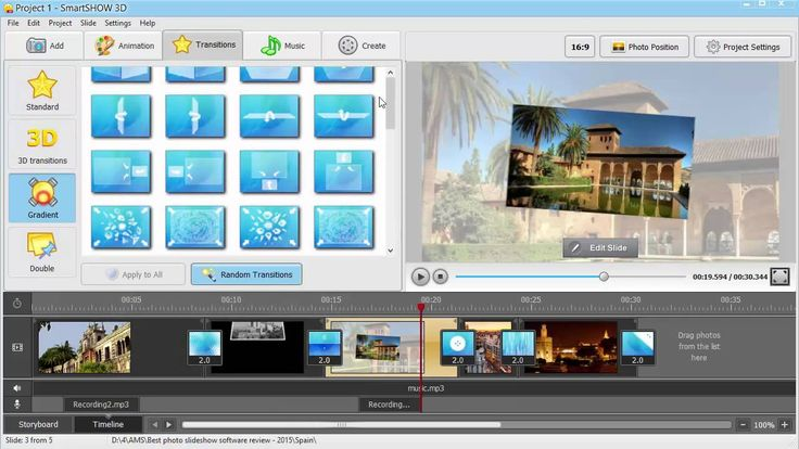 """Must-watch """"Best Video Slideshow Maker - 2015"""" review by http://smartshow-software.com/ Discover such awesome new features as adding videos to your slideshow, photo & video crop option, audio comments recording and many more! #smartshow3d #slideshow #VideoEditing"""