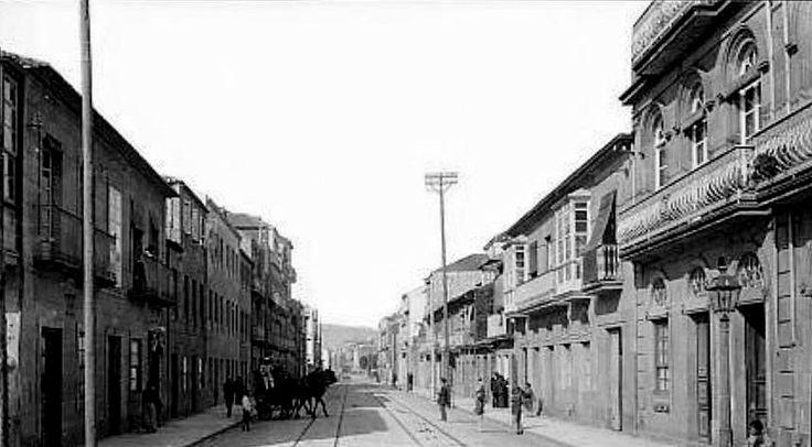 Rúa de Pi i Margall. Anos 20