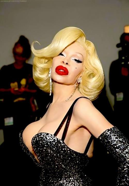 "Amanda Lepore. An icon of her own making. Unclassifiable, undefinable, unafraid, and owning every bit of it. ""Touch this skin, honey! Touch all this skin!"""