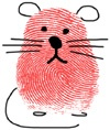 Thumbprint Mouse