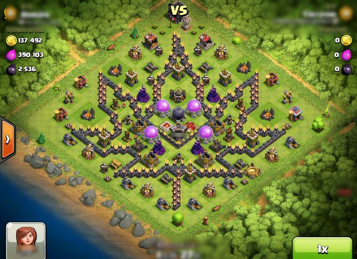 funny clash of clans bases - Google Search