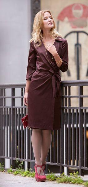Платье - выкройка № 116 из журнала 11/2012 Burda – выкройки платьев на Burdastyle.ru
