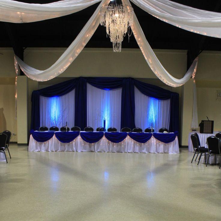 559 best Head table set ups images on Pinterest Decorations