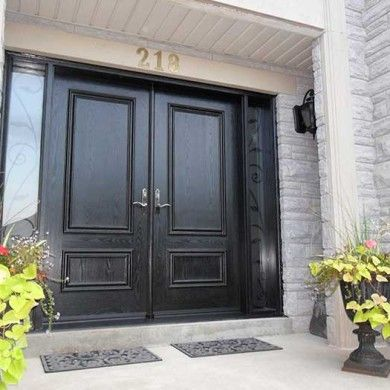 Best Richmond Hill  Front Door Images On Pinterest Entrance - Solid front doors