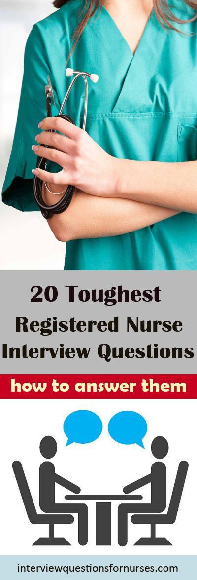 Top 20 tricky and toughest registered nurse interview questions and how to answer them effectively.