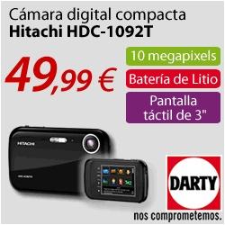 CAMARA DIGITAL COMPACTA HITACHI 49,99 EUROS - ENVIO GRATIS