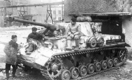 Captured in Stalingrad, the German Panzer IV