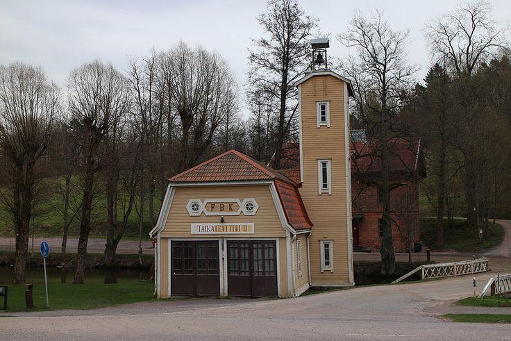 Old Fire Station | by visitsouthcoastfinland #visitsouthcoastfinland #Finland #Fiskars #firestation #theater #paloasema #teatteri