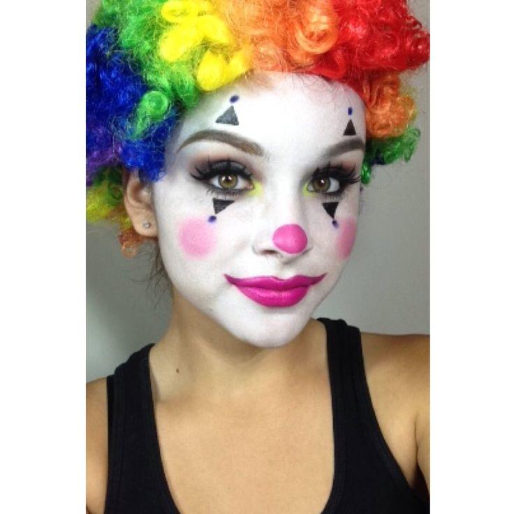 Best 25+ Girl clown makeup ideas on Pinterest | Halloween clown ...