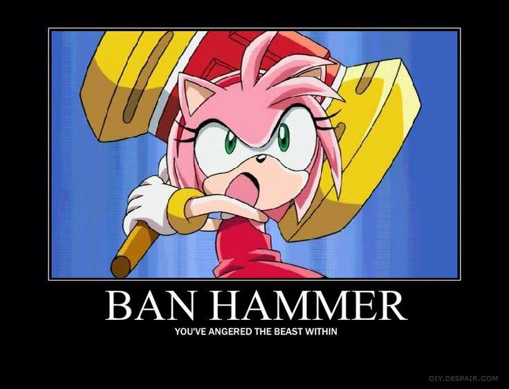 Image result for anime ban hammer