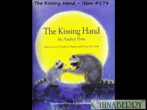 "I read this to my younger son when starting kindergarten...having a ""kissing hand"" each day was the only he could survive. He's in high school now, but still my more tender hearted kid."